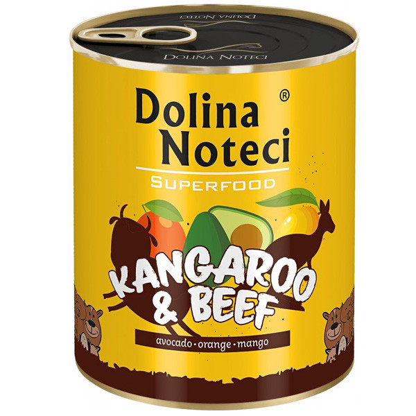 Dolina Noteci Superfood - Kengura a hovädzie 800g DNP S.A. - 2