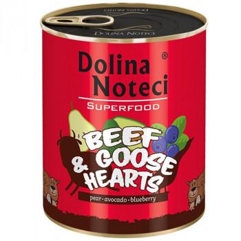 Dolina Noteci Superfood - Hovädzie a husacie srdcia 800g DNP S.A. - 2