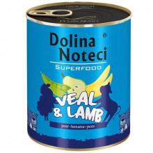Dolina Noteci Superfood - Teľacie a jahňacie 800g DNP S.A. - 2