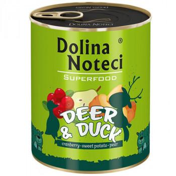 Dolina Noteci Superfood - Jeleň a kačica 800g DNP S.A. - 2
