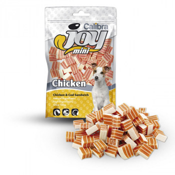 Calibra Joy Dog Mini Chicken & Cod Sandwich 70g Calibra - 1