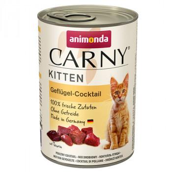Carny Kitten - Hydinový kokteil 400g Animonda - 1