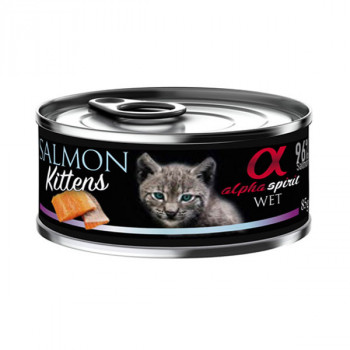 Alpha Spirit Kitten - Losos 85g Alpha Spirit - 1