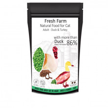 Fresh Farm No Grain Adult Cat - Kačica a morka 550g Fresh Farm - 1