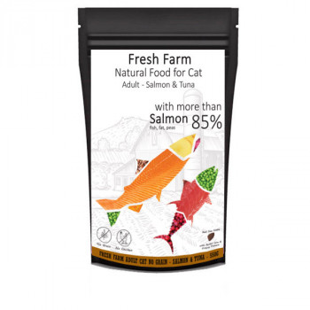 Fresh Farm No Grain Adult Cat - Losos a tuniak 550g Fresh Farm - 1