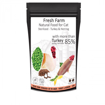 copy of Fresh Farm No Grain Adult Cat - Losos a tuniak 550g Fresh Farm - 1