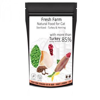 Fresh Farm No Grain Sterilized Cat - Morka a sleď 550g Fresh Farm - 1