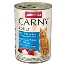 Carny Adult - Hovädzie, treska a petržlen 400g Animonda - 1