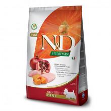 N&D Pumpkin Adult Mini - Chicken & Pomegrante 7kg Farmina N&D - 1