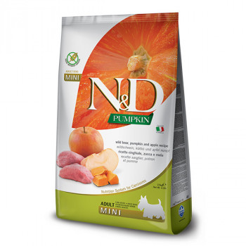 N&D Pumpkin Adult Mini - Boar & Apple 7kg Farmina N&D - 1