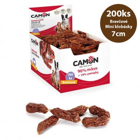 Fresh Farm Klobásky - Bravčové mäso 200ks Ani - pet - 1
