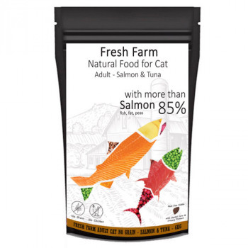 Fresh Farm No Grain Adult Cat - Losos a tuniak 550g Fresh Farm - 3