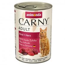Carny Adult - Hovädzie a srdiečka 400g Animonda - 1