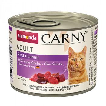 Carny Adult - Hovädzie a jahňa 200g Animonda - 1