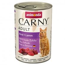 Carny Adult - Hovädzie a jahňa 400g Animonda - 1