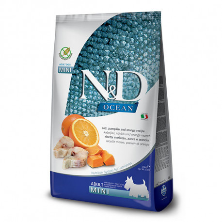 N&D Pumpkin Adult Mini - Cod & Orange 2,5kg Farmina N&D - 1