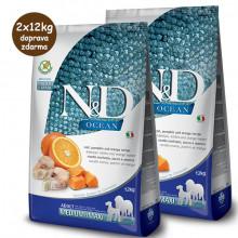 copy of N&D Pumpkin Adult Medium/Maxi - Cod & Orange 12kg Farmina N&D - 2