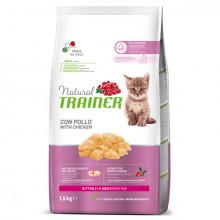 Natural Trainer Kitten - Kuracie mäso 1,5kg  - 1