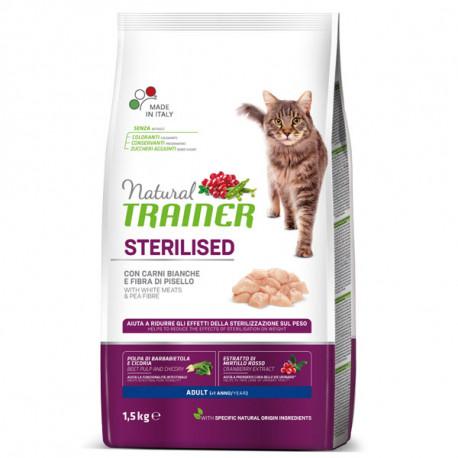 Natural Trainer Sterilized Cat - Biele druhy mäsa 1,5kg Trainer - 1