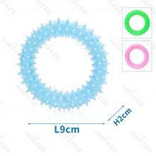 Gumený kruh s masážou ďasien pre psa Nobleza - 9cm Nobleza - 1
