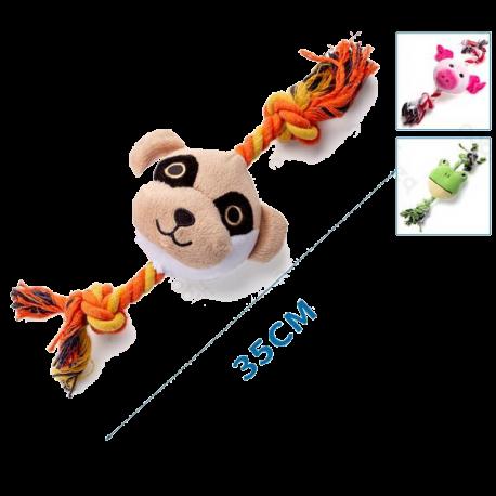 Plyšová hračka Nobleza - Zvieratká 3 druhy s lanom Nobleza - 1