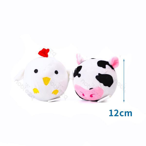 Plyšová hračka Nobleza - Sliepka a kravička Nobleza - 1