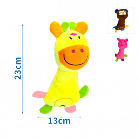Plyšová hračka Nobleza - Zvieratká 3 druhy Nobleza - 1