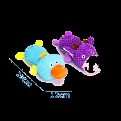 Plyšová hračka Nobleza - Kačica a kravička Nobleza - 1