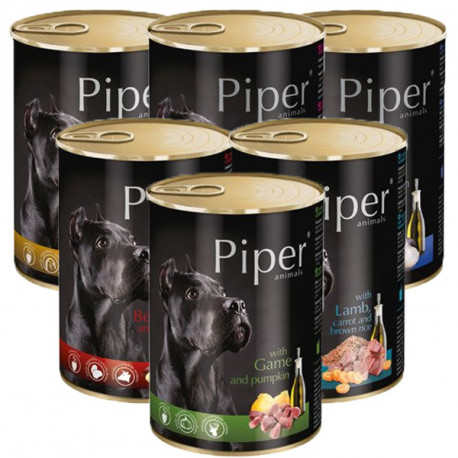Piper Adult Dog - Mix na ochutnávku 6x400g DNP S.A. - 1