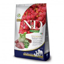 N&D GF Quinoa Dog Digestion Jahňacie a fenikel 2,5kg Farmina N&D - 1