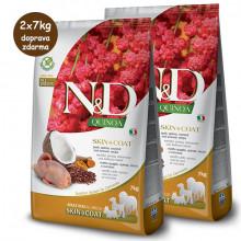 N&D GF Quinoa Dog Skin&Coat Quail & Coconut 2,5kg Farmina N&D - 2