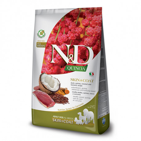 N&D GF Quinoa Dog Skin&Coat Duck & Coconut 2,5kg Farmina N&D - 1