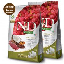 N&D GF Quinoa Dog Skin&Coat Duck & Coconut 2,5kg Farmina N&D - 2