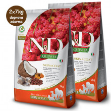 N&D GF Quinoa Dog Skin&Coat Herring & Coconut 2,5kg Farmina N&D - 2