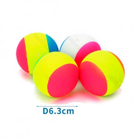 Gumená lopta pre psa Neon - 6,3cm Nobleza - 1