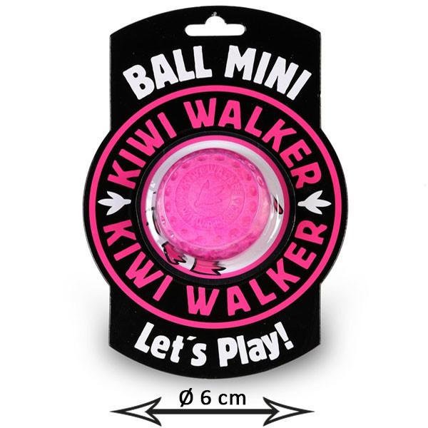 Kiwi Walker Lopta Mini - ružová 6cm  - 1