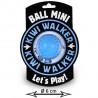 copy of Kiwi Walker Lopta Mini - ružová 6cm Kiwi Walker - 1