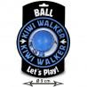 Kiwi Walker Lopta Maxi - modrá 9cm Kiwi Walker - 1