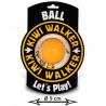 Kiwi Walker Lopta Maxi - oranžová 9cm Kiwi Walker - 1