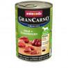GranCarno Original Adult - Hovädzie a kačacie srdcia 400g Animonda - 1