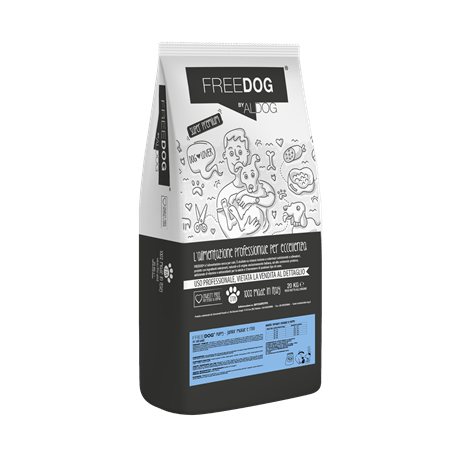 Freedog Puppy&Junior Mini - Pork and Rice 20kg Eurocereali Pesenti s.r.l. - 1