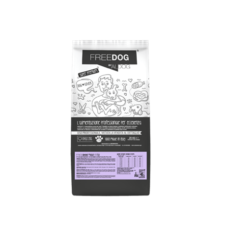 Freedog Pork and Rice Medium 20kg  - 1