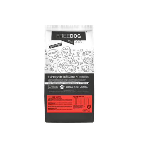 Freedog Rich in Lamb Medium 20kg  - 1