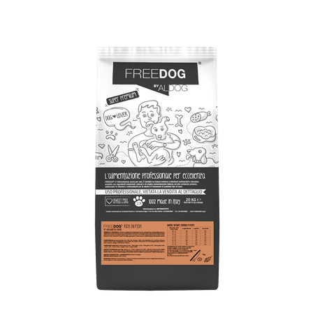 Freedog Rich in Salmon Medium 20kg Eurocereali Pesenti s.r.l. - 1