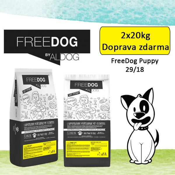Freedog Puppy Medium 20kg Eurocereali Pesenti s.r.l. - 2