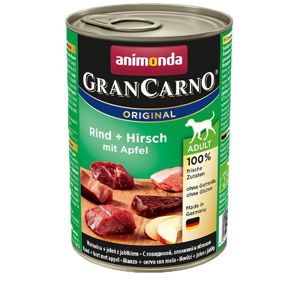 GranCarno Original Adult - Hovädzie a jeleň 400g Animonda - 1