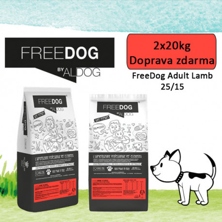 Freedog Rich in Lamb Medium 20kg  - 2