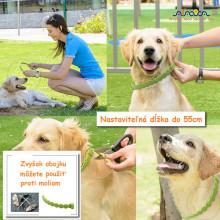 Arava Antiparazitný bylinný obojok pre psov 62cm Arava - 2