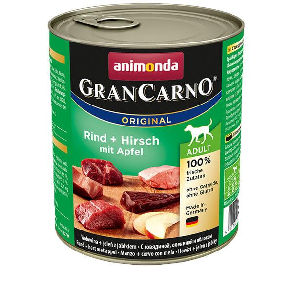GranCarno Original Adult - hovädzie a jeleň Animonda - 1
