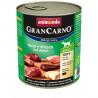 GranCarno Original Adult - Hovädzie a jeleň 800g Animonda - 1